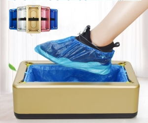 Automatic-shoe-cover-dispenser-machine-with-200-Pcs-Cover