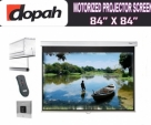 Motorized Projection Screen 84