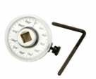 Auto Drive Torque Gauge Meter Angle 1/2 inch 360 degrees Adjustable Rotation Car Garage Table Torque Wrench Tool-Steel