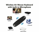 Wireless Mouse Keyboard with built-in Microphone