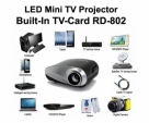 LED Projector Built In TVCard RD-802 3D HD High Quality