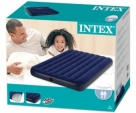 Intex Inflatable Air Bed / Air Mattress / Airbed with Electric Air Pump (54in x 75in x 8.66in)