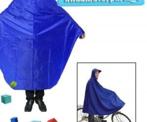 Cycling-Bicycle-Bike-Raincoat-Rain-Cape-Poncho-Cloth-Gear-Rainproof