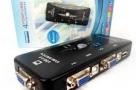 EKL 4Port USB 2.0 KVM Switcher VGA switch Box 1920 X 1440 Connects Printer Keyboard Mouse Monitor USB 2.0 KVM Switch