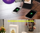 WiFi Android Table Advertising Player / Restaurant Menu Power Bank / Charging Station