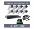 08 Pcs HD CCD, Complete Package, Hot Offer