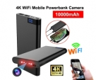 Wifi Camera 4K Powerbank IP Cam