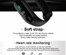 Blood Pressure Monitoring Fitness Band M3