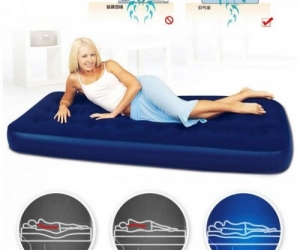 Jilong-Semi-Double-Air-Bed-Free-Pumper
