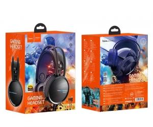 hoco-Headhoco-phones-W100-Touring-Gaming-Headset-Black-Color