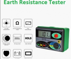DY4100-Megger-Meter-Resistance-Tester-Digital-Megohmmeter-Earth-Resistance-Tester-Ground-0-2000-Ohm-Insulation-Tester