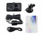 Ultra Wide Angle Lens Car DVR Camera 1080P LCD Video Recorder Dash Camera high speed Transmission TF card memory-Black
