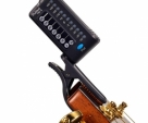 Guitar Tuner Meideal T82G Guitar Finely Tunes Tuner The key of the instrument-Black