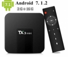 Tanix TX3 MINI 2GB 16GB Android WIFI TV Box (Black)