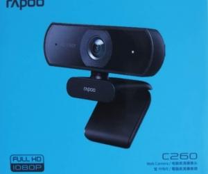 Rapoo-C260-USB-Black-Full-HD-Webcam