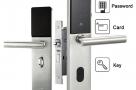 Electronic Digital Smart Password Door Lock Keypad Touch Screen & 5 RFID Cards