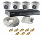 DAHUA 2 CHANNEL 1MP CCTV PACKAGE