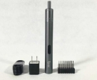 Smart Adjustable Torsion Charging Cordless Electric Screwdriver Set USB Power Screwriver -Black