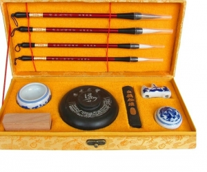 Luxury-Calligraphy-Brushes-Pen-Set-Artist-Writing-Drawing-Weasel-Brush-Pen-Ink-Paper-Stone-Set-the-Scholars-Four-Jewels