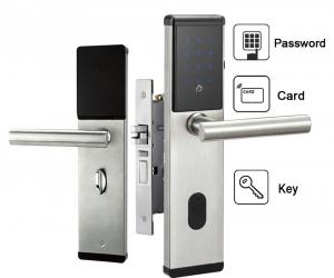 Electronic-Digital-Smart-Password-Door-Lock-Keypad-Touch-Screen-5-RFID-Cards