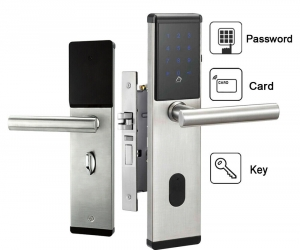 Electronic-Digital-Smart-Password-Door-Lock-Keypad-Touch-Screen-5-RFID-Cards