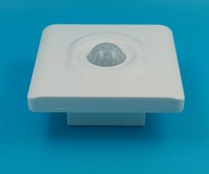 Corridor-wall-adjustable-pir-motion-sensor-switch-intelligent-switch-White