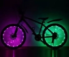 EW Style Colorful Bicycle Light Cycling Wheel Spoke Light Waterproof Drop Shipping Bike Accessories Coolful 2.2m Bicycle Light