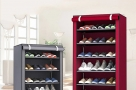 Multi Layer Folding Shoe Rack