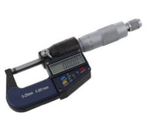 0-25mm-0-1-inch-0001mm000005-Electronic-Digital-Micrometer-outside-micrometer-caliper-thickness-gauge-Measuring-tool-Black