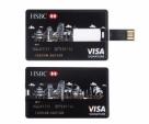 256GB HSBC Visa Card Shape Pendrive