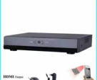 CCTV 8 channel NVR Onvif H.265 for IP Camera System Support Any Brand IP Camera-Black