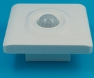 Corridor white 86mm wall adjustable pir motion sensor switch two wire LED energy saving intelligent switch 36B