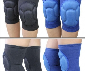 AOLIKES-1-Pair-Thicked-Soccer-Volleyball-Extreme-Sports-Ski-Knee-Pads-Fitness-Knee-Support-Protective-Kneepad-Cycling-Kneepads