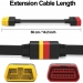 Obd2-Extended-Extension-cable-male-to-Female-for-X431-VVPROEasydiag-30MdiagGolo-Main-OBD-II-Extension-Cable