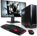 -Gaming-PCCore-i54GB1TB19-LED-Monitor