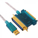 Dtech-Geunuine-DT-5008-USB-to-DB25-port-CN36-pin-IEEE1284-cable