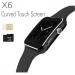 X6-smart-Mobile-watch-Phone-carve-display-intact-Box-Sim-