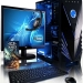 "i3 4th gen 4GB RAM 1000GB HDD 19""LED"